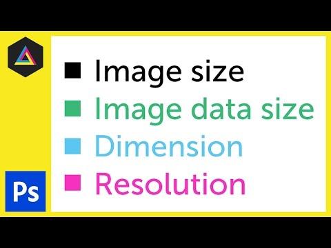 Görüntü Boyutu, Boyut Ve Çözünürlük İçinde Adobe Photoshop Ep4/33 [Yeni Başlayanlar İçin Adobe Photoshop]