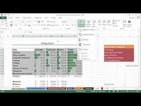Koşullu Biçimlendirme Ve Veri Analizi Excel 2013 (Office 365): Bölüm 5 18