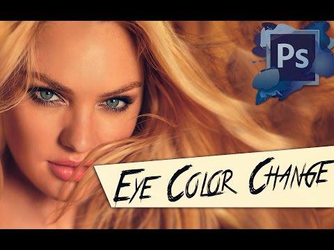 Photoshop Göz Rengi Değiştirme - Photoshop Eğitimi Yeni Başlayanlar 2014 İçin