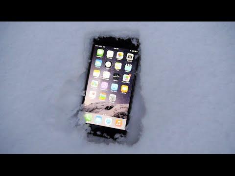 İphone 6 Artı Buried Karda - Ecek O Hayatta Kalır?