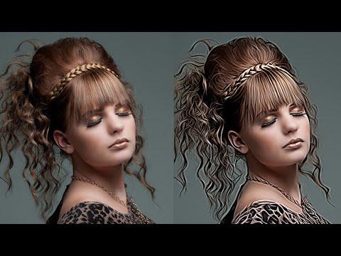 Photoshop Hızlı İpucu Öğretici | Nasıl Yapmak Yağlı Boya Kıvırcık Düz Fotoğraf Efektleri