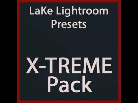 Göl Lightroom Hazır Ayarları: X-Treme Paketi