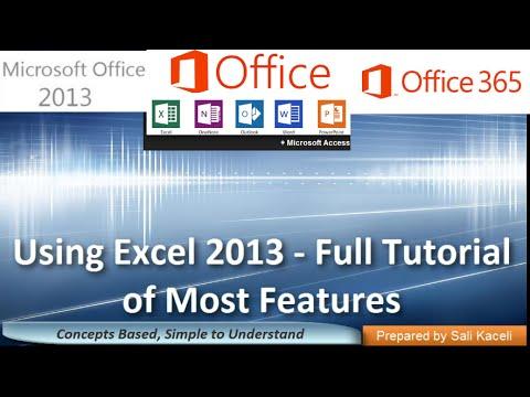 Microsoft Excel 2013: Bir Kolay Eğitim Herkes İçin 19 Modülleri İle