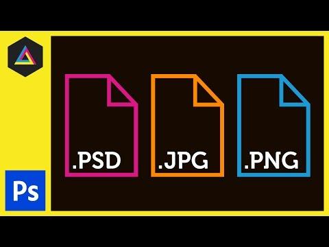 Yaygın Dosya Türleri İçinde Adobe Photoshop Ep6/33 [Yeni Başlayanlar İçin Adobe Photoshop]