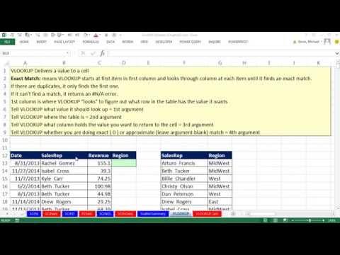 Excel 2013 İstatistiksel Analiz #14: Düşeyara Masa Ve Oluşturmak İçin Yeni Alanı Eklemek İçin Çapraz Çizelgeleme