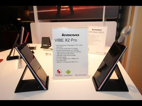 Lenovo Vibe X 2 Pro Ve Selfie Flash Uygulamalı