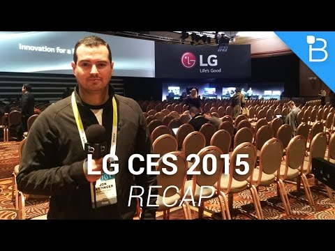 Lg Ces 2015 Basın Toplantısı Recap - Tv, G Flex 2 Ve Daha Fazla