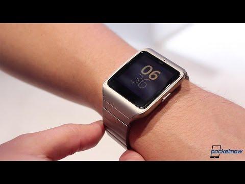 Sony Smartwatch 3 Metal (Ces 2015 Uygulamalı)