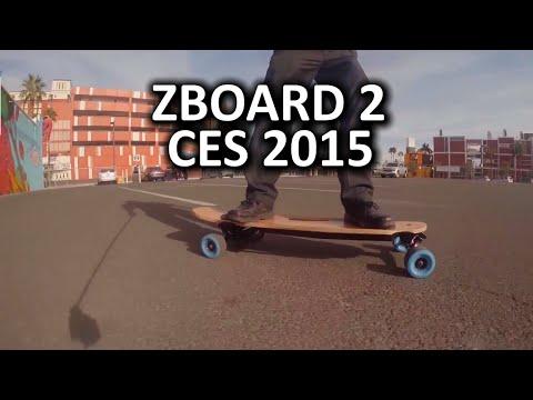 Zboard 2 Mavi Sonraki Gen Elektrikli Kaykay - Ces 2015