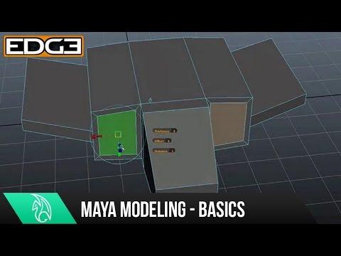 Öğretici Modelleme - Yeni Başlayanlar İçin Temel Modelleme Maya