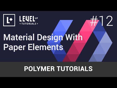 Polimer Öğreticiler #12 - Kağıt Elemanları İle Malzeme Tasarım