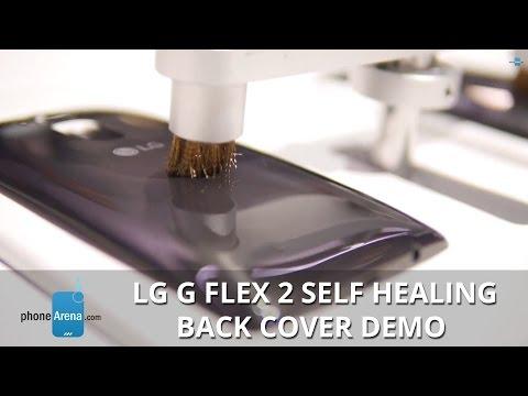 Lg G Kendi Kendini İyileştirme Geri Flex 2 Kapak Demo