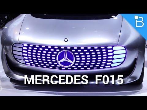 Mercedes-Benz F015 - Sürücüsüz Bu Baktım Hiç İyi