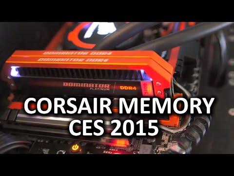 Corsair Nötron Xt, Turuncu Dominator Platinums Ve Yeni Başparmak Götürmek - Ces 2015