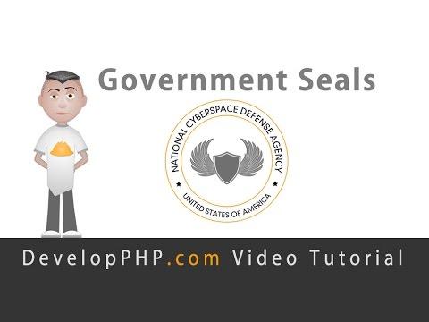 Hükümet Mühür Logo Grafik Tasarım Havai Fişek Tutorial