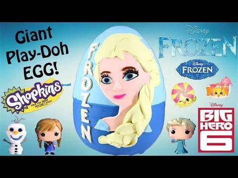 Play Doh Sürpriz Yumurta Donmuş Dev Disney | Shopkins Sezon 2 Büyük Kahraman 6 Funko Pop