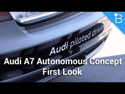 Audi A7 Özerk Kavramı İlk Bakış