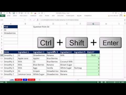 Excel Sihir Numarası 1169: Bu Yöntemi Satırdaki Maddelerin? Filtre Ve Vurgulamak İçin Koşullu Biçimlendirme