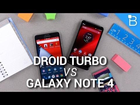 Galaxy Not 4 Vs Droıd Turbo: A Büyük Ekran Karşı Bir Büyük Pil