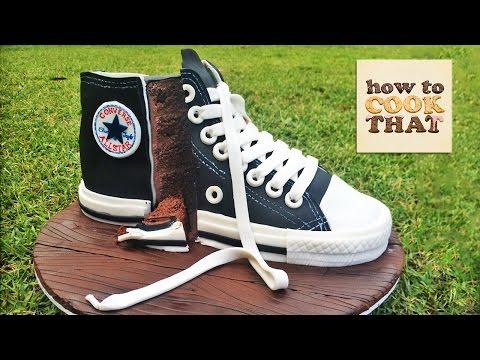 Converse Ayakkabı Kek Öğretici Nasıl O Ann Reardon Cook