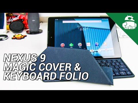 Nexus 9 Durumlarda - Sihirli Kapak Ve Klavye Folyo