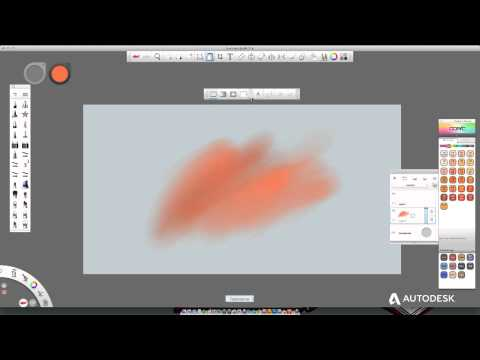 Autodesk Sketchbook Pro 7 Deformasyon Ve Seçim Aracı
