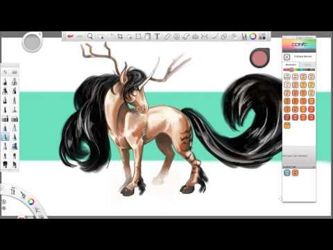 Autodesk Sketchbook (Pro): Copic Kütüphane