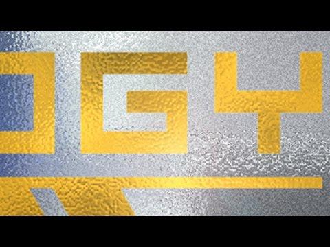 Photoshop: Bir Altın Yapraklı Logo Buzlu Cam Üzerinde Oluşturun.