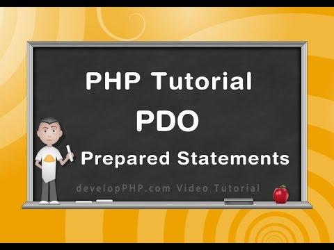 Php Pdo Hazır Deyimler Öğretici