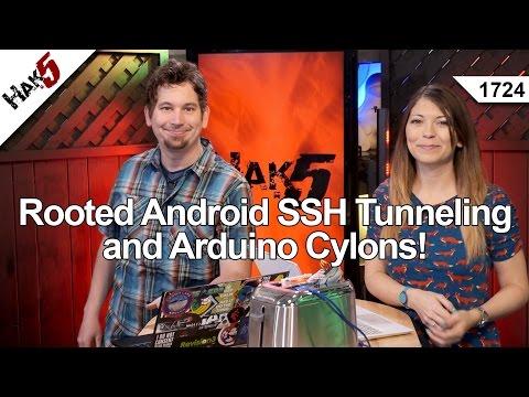 Köklü Android Ssh Tünel Ve Arduino Cylonlar! Hak5 1724