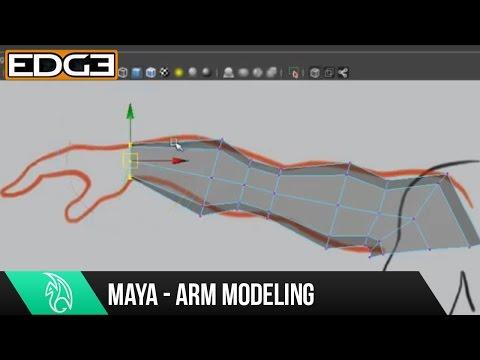 Maya Eğitimi - Hd Kol Modelleme Organik