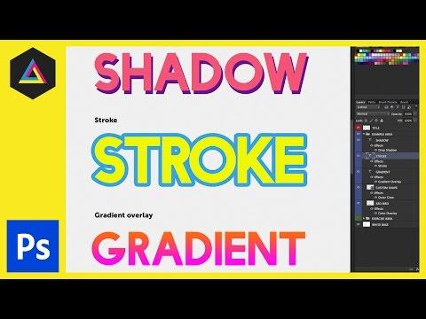 Katman Stillerini İçinde Adobe Photoshop Ep16/33 [Yeni Başlayanlar İçin Adobe Photoshop]