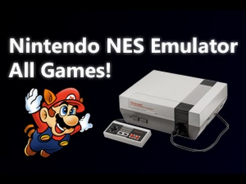 Taşınabilir Nintendo Nes Emulator Pc, Tüm Oyunlar İçin!