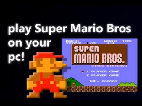 Nintendo´s Super Mario Bros Hatırlayarak!