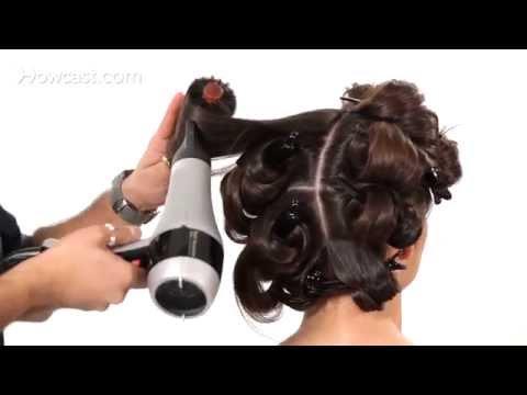 Nasıl Kuru Büyük, Kabarık Saç | Salon Saç Eğitimi İçin Darbe