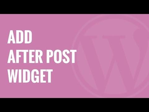 Nasıl Özel Mesaj Widget Wordpress Sonra Eklemek İçin