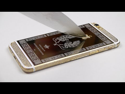 24 K Altın İphone 6 Tırmalamak Memnuniyeti