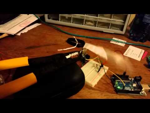 Arduino + Php + Bir Motor!  Daha Eğlenceli :-)