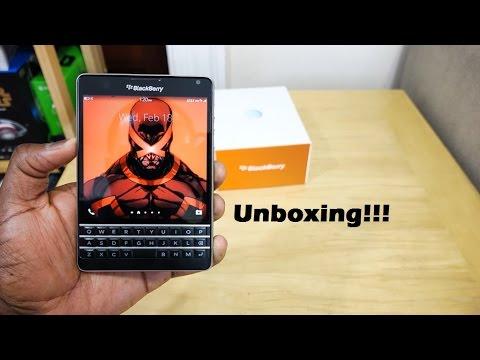 At&T Blackberry Pasaport Kutulama