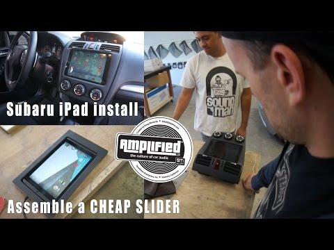 Subaru Forester İpad Yükle Ve Yeni Android Dash Kitleri