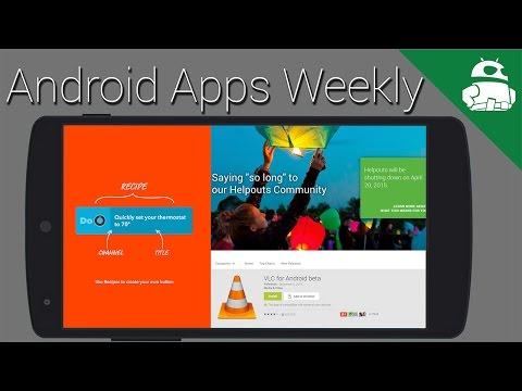 Xposed Lolipop Çerçevedir Dışarı, Pushbullet Var Daha İyi, Veda Helpouts - Android Apps Haftalık
