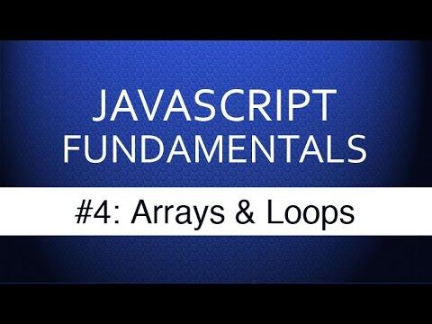 Javascript Eğitimi Yeni Başlayanlar İçin - #4 Javascript Dizileri Ve Döngüler