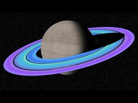 Photoshop: Bölüm 1: Özel Halkalar İle Satürn Derin Uzayda Olun
