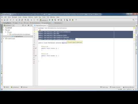 Android Uygulama Geliştirme İçin Yeni Başlayanlar - 71 - Libgdx Oyun Proje Yapısı