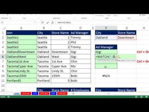 Excel Sihir Numarası 1174: Düşeyara İki Arama Değerleri? Nasıl İş? (6 Yöntemleri)