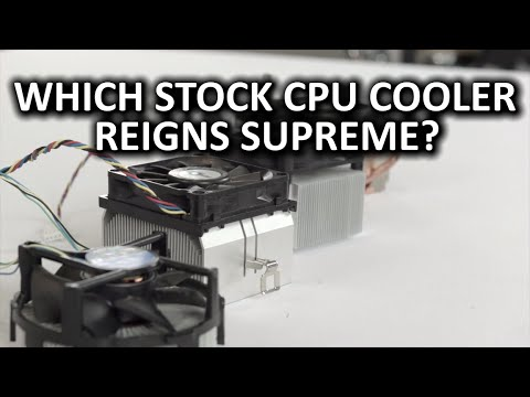 Intel Vs Amd - Ultimate Stok Soğutucu Showdown