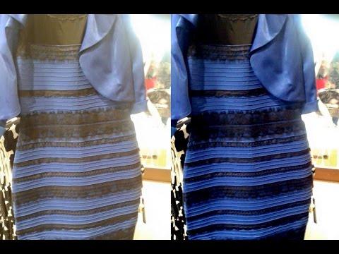 Ne Renk Olduğunu Bu Elbise? #thedress Bilim Ve Photoshop Kullanarak Açıkladı