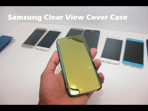 Samsung Galaxy S6 Açık Görüş Kapak Case