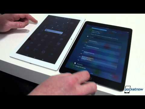 Sony Xperia Z4 Tablet Vs Apple İpad Aır 2