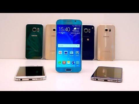 Samsung Galaxy S6 Vs Htc Bir M9: Mwc 2015, Uygulamalı